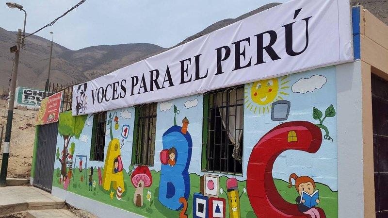 Voices4Peru, ONG caritative que j'ai commencé il y a quelques années, prenez une journée et traîner avec nous sur place à la base
