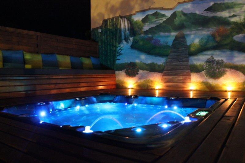 les 3 soleils jacuzzi et piscineau sel sécurisée, casa vacanza a Matouta