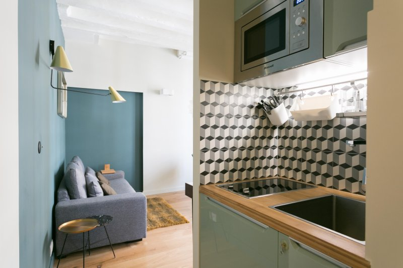kitchenette totalmente equipada