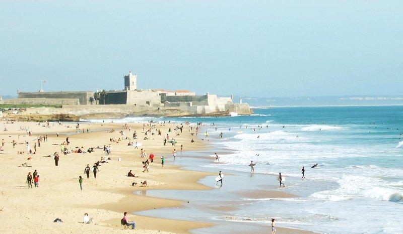 playa de Carcavelos
