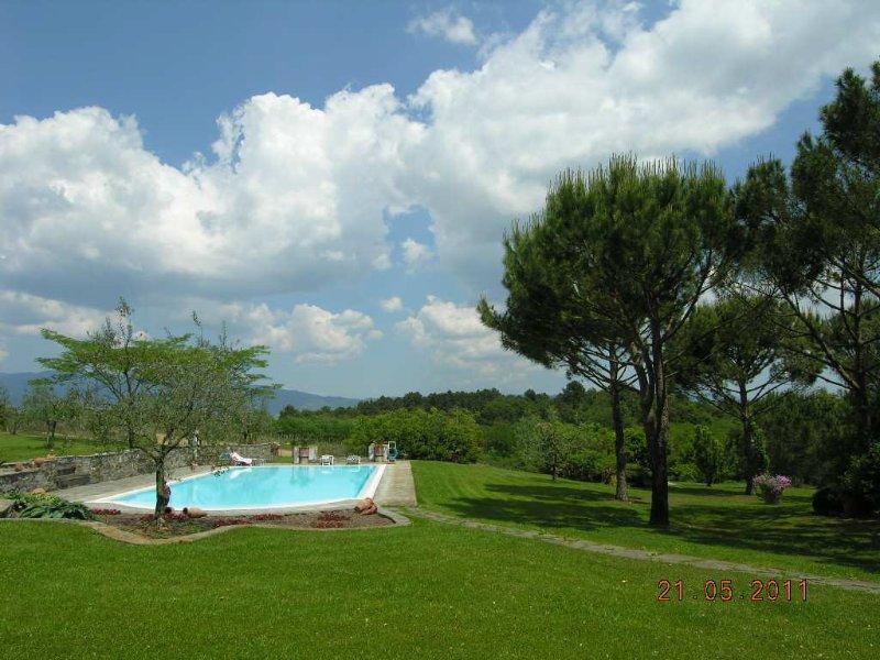 Villa Paola, alquiler de vacaciones en Pergine Valdarno