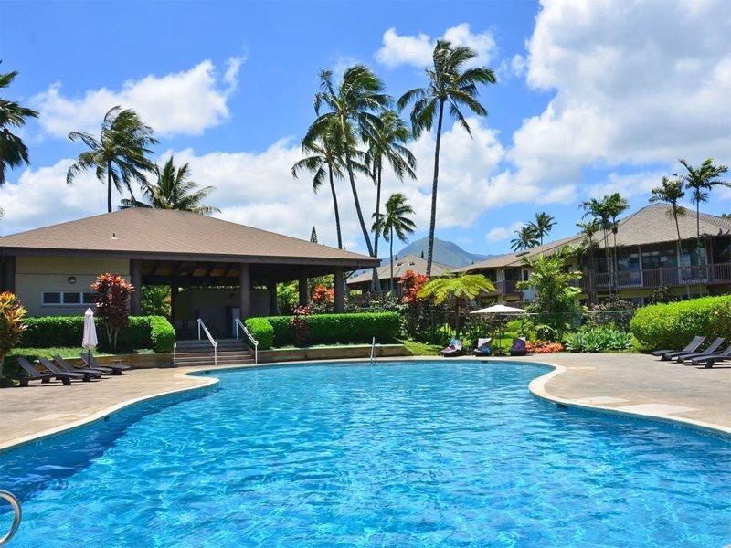 Ce condo de location de vacances Princeville possède la plus grande piscine en copropriété sur la Côte-Nord!