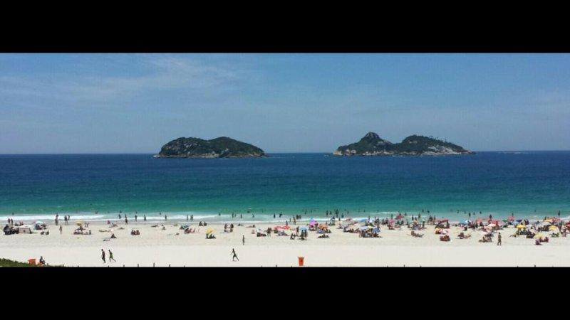 Privileged view of Pepê Beach.