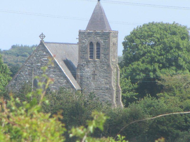 Llanddeusant-the church of the two saints