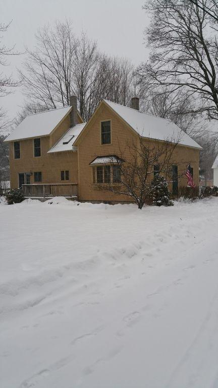 lado de invierno / imagen posterior exterior