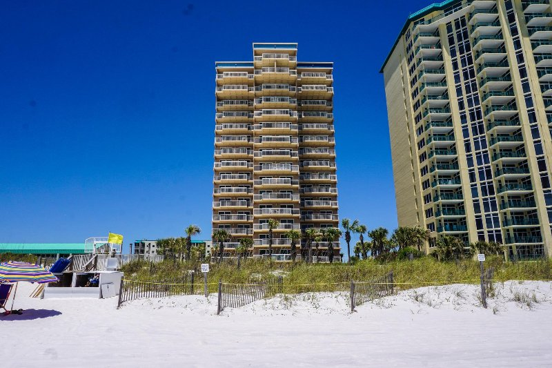 View of Destin Towers from the Beach