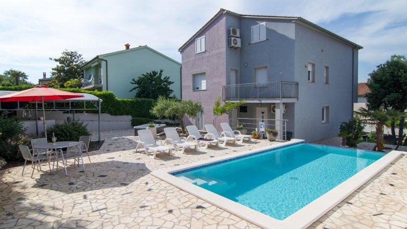 Deluxe House Aquamarin 10+, casa vacanza a Banjole