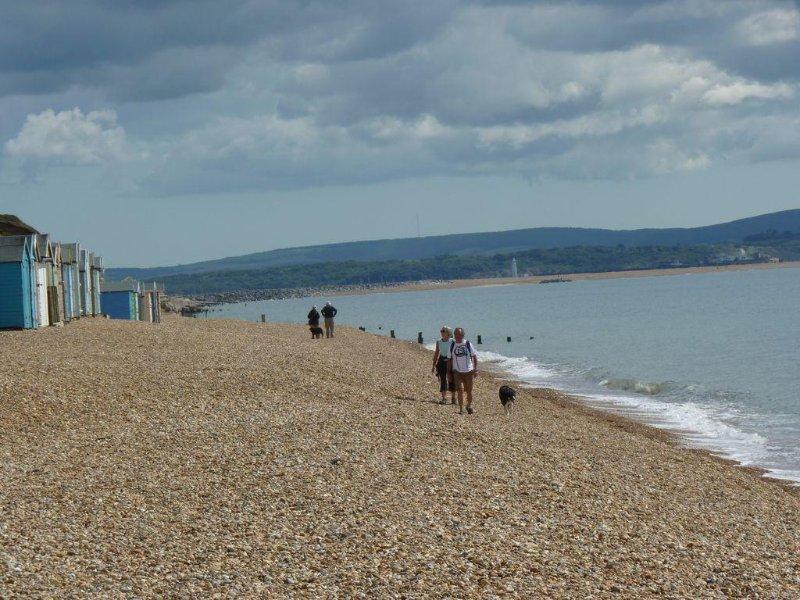 nearest beach (10 min walk)