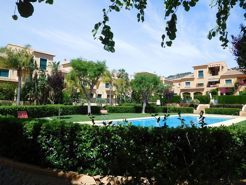 Bright spacious Holiday Apartment | Javea | tropical gardens and pools