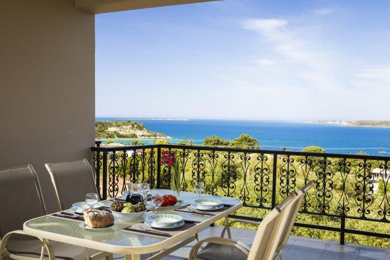 Polymnia I-Top Floor Apartment, holiday rental in Kefalonia