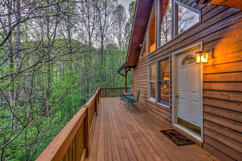 You'll never want to leave this woodland getaway!