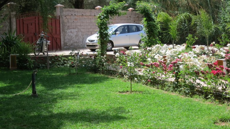 Parking area on site within the front garden.