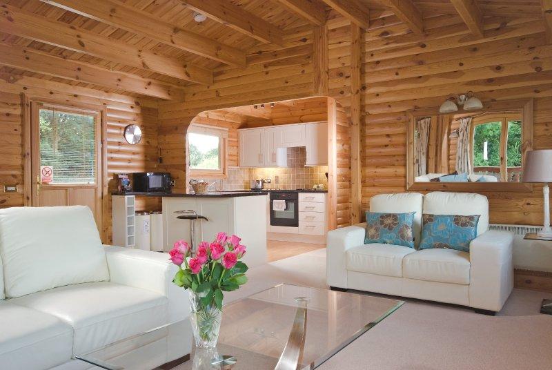 Luxury 2 Bedroom Scandinavian Lodge, location de vacances à Houghton