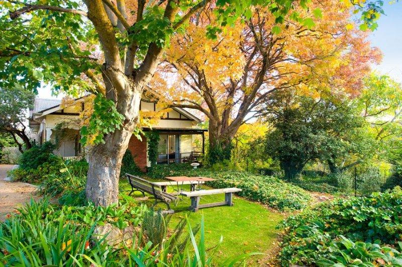 Daisy Dell 1-Zimmer-Hütte am Ende des Gartens.
