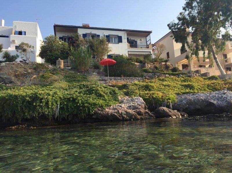 Villa Fea - BeachFront With Spectacular Sea View, holiday rental in Sfentouri