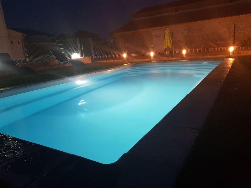 La roseraie du Puy, calme proche du Puy du Fou: La rose Noire, holiday rental in Sainte-Cecile