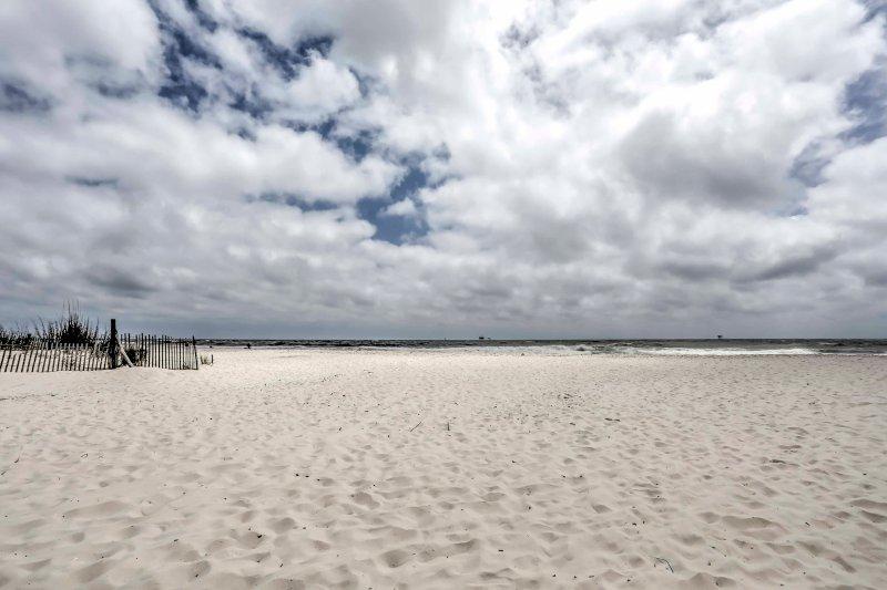 La playa está a pocos pasos de distancia!