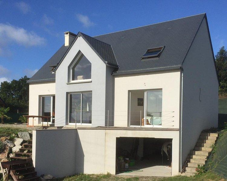 Maison avec vue mer, holiday rental in Le Vast