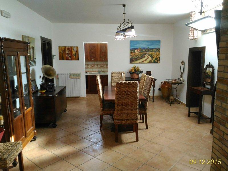 Monolocale sottoposto, casa vacanza a Vignacastrisi