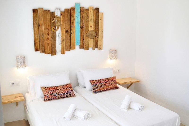 ESTEL Apartamentos. Estudios vistas JARDIN, location de vacances à Sant Ferran de ses Roques