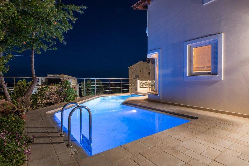 Pantanassa VIillas - Euterpe Maisonette with Private Pool & Sea View, location de vacances à Agia Marina
