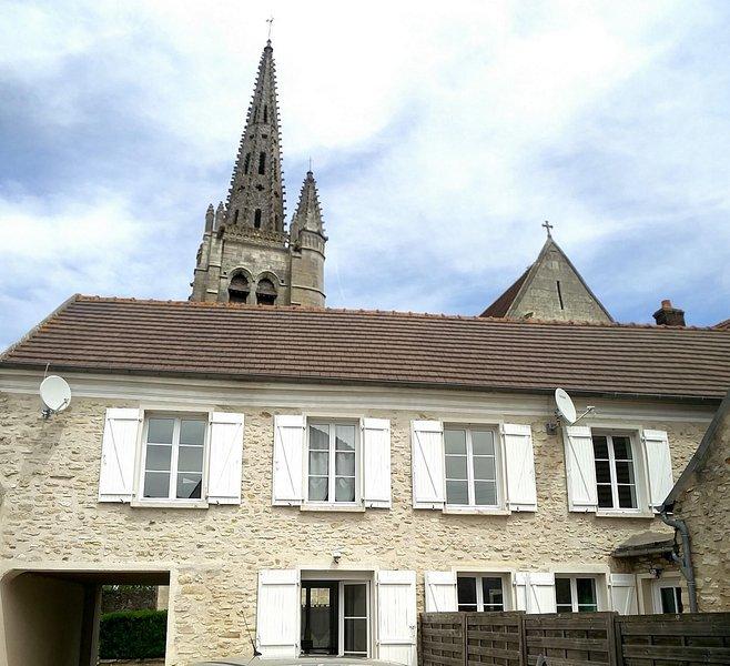 Charmante maison ancienne à Baron, Senlis, Paris, Disney, Chantilly, Villepinte, location de vacances à Baron