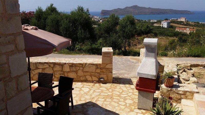 Pantanassa Villas - Clio Cozy Apartment with Sea View, location de vacances à Agia Marina