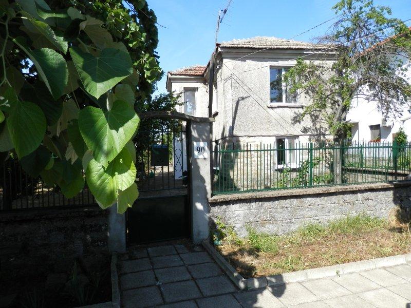 El frente de la casa en Marinka su casa de vacaciones!