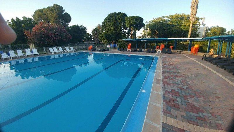 Our Guest have free entry to the local community swimming pool, in summer from May15till October 1st
