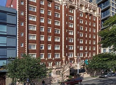 Originally an elegant hotel in Seattle city center.