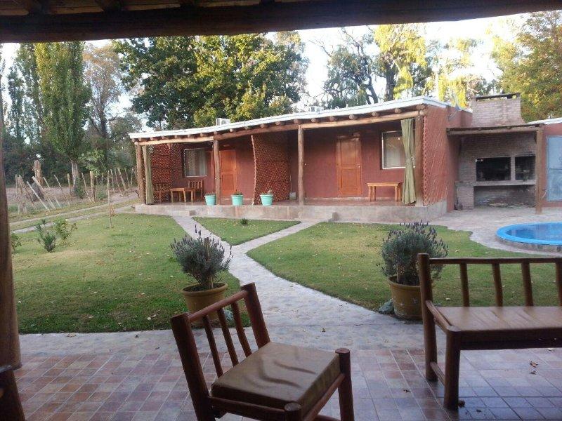 Apart La Eldita. Barreal. Calingasta. San Juan, alquiler de vacaciones en Province of San Juan