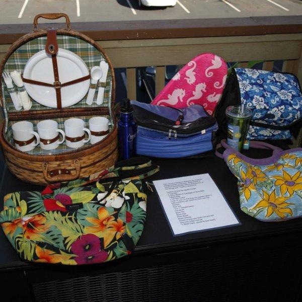 Kit de Primeiros Socorros, totalmente abastecido Cesta, Kickboard, as bolsas de praia, cooler de carro, Outros Coolers, Too!