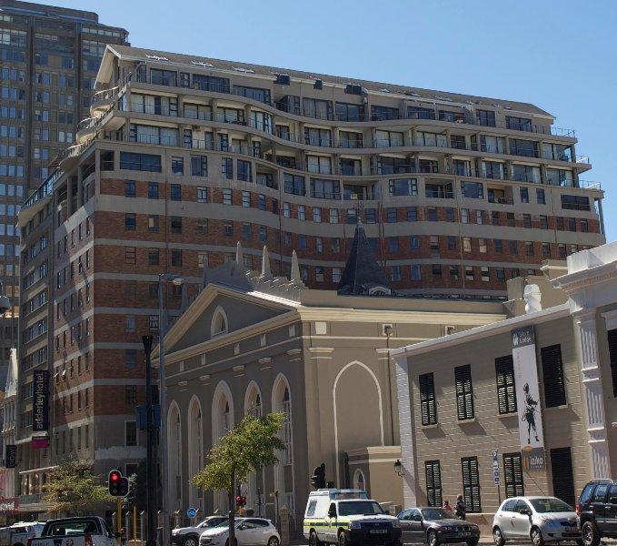 Die Piazza im Herzen von Kapstadt