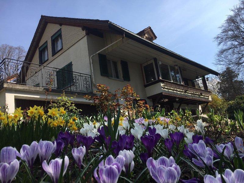 Ferienhaus in Hilterfingen am Thunersee, vacation rental in Spiez