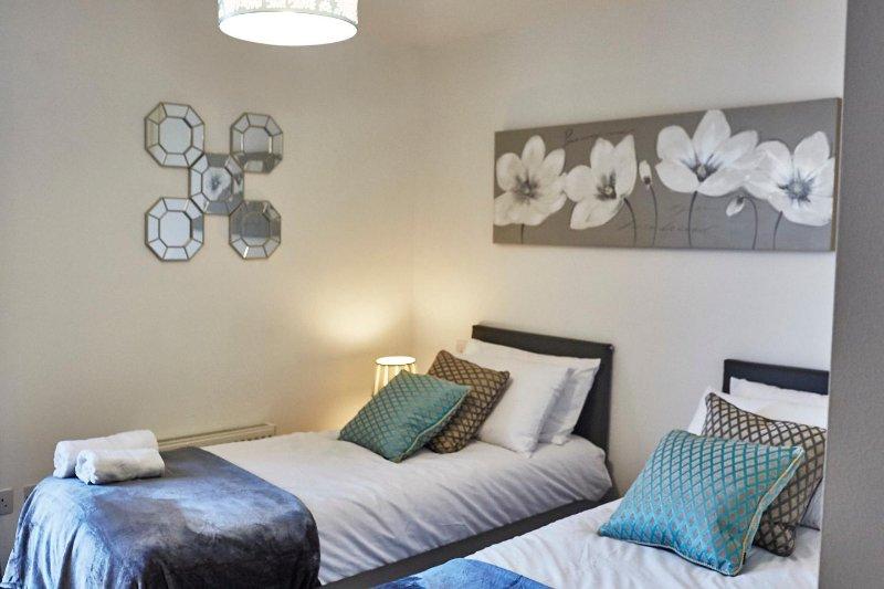 lits jumeaux luxueuses et confortables disponibles sur demande