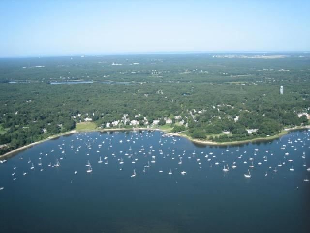 Overlooking Cotuit Harbor