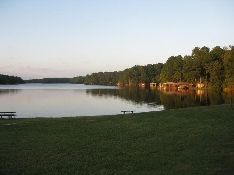 One of two lakes within the gated community... total of 5 lakes in the area