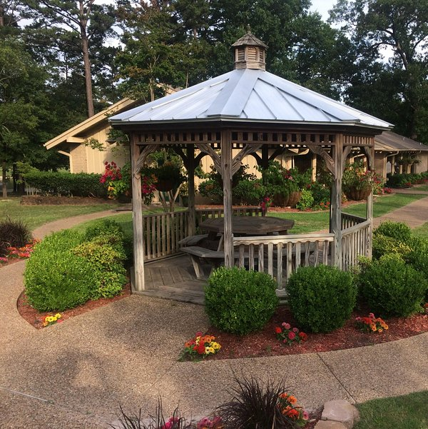 Gazebo in the Public Courtyard