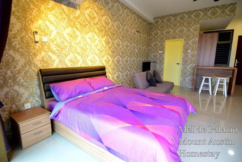 Mel de Palazio Mount Austin Homestay - High Floor & WIFI, alquiler vacacional en Johor Bahru District