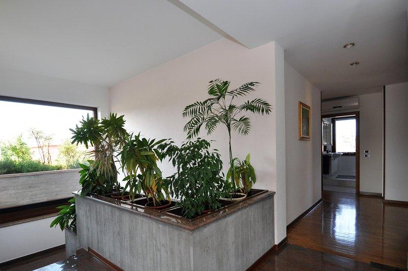 Entrada y el pasillo en el primer piso