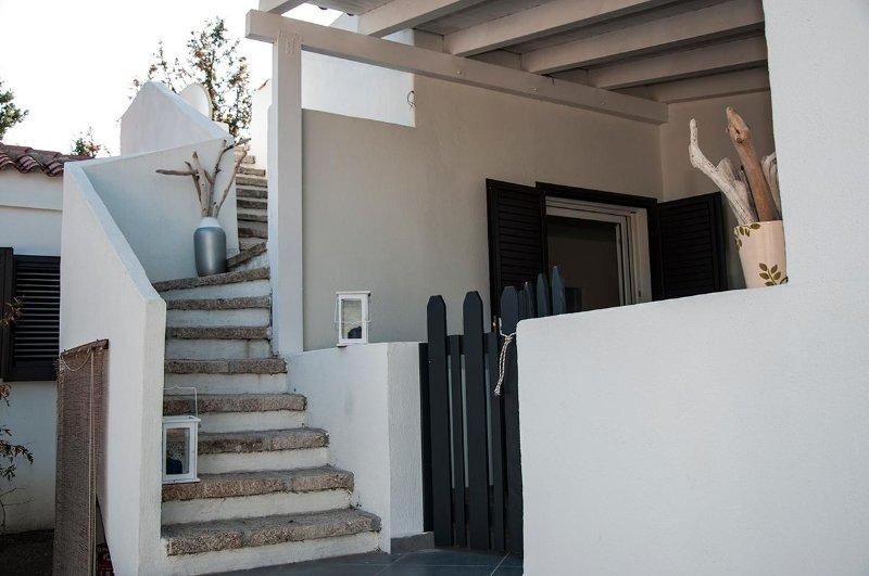 accesso cucina e solarium