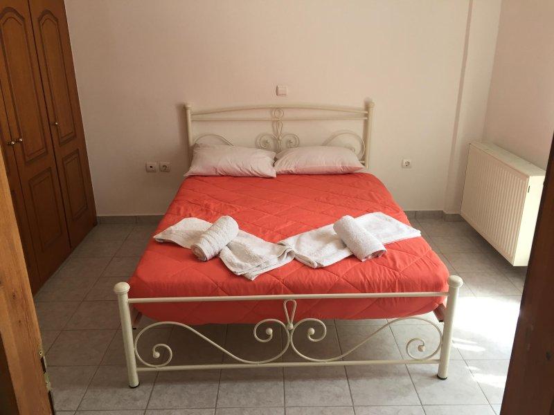 Depis casa em Naxos cidade quarto principal