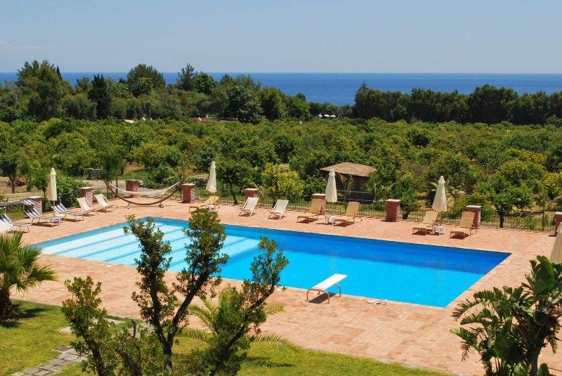 Citrus Sicilia Etna Sea, vacation rental in Carruba