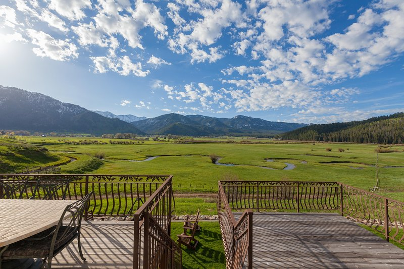 The view from our expansive decks is amazing!