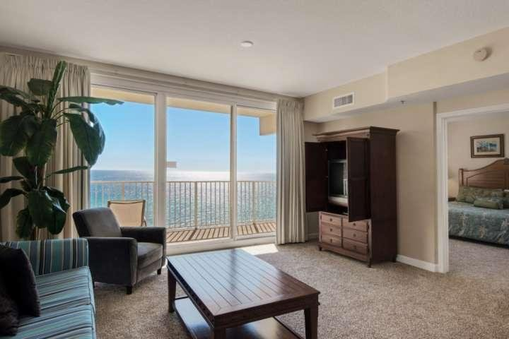 All the comforts of home away from home with a Gulf View