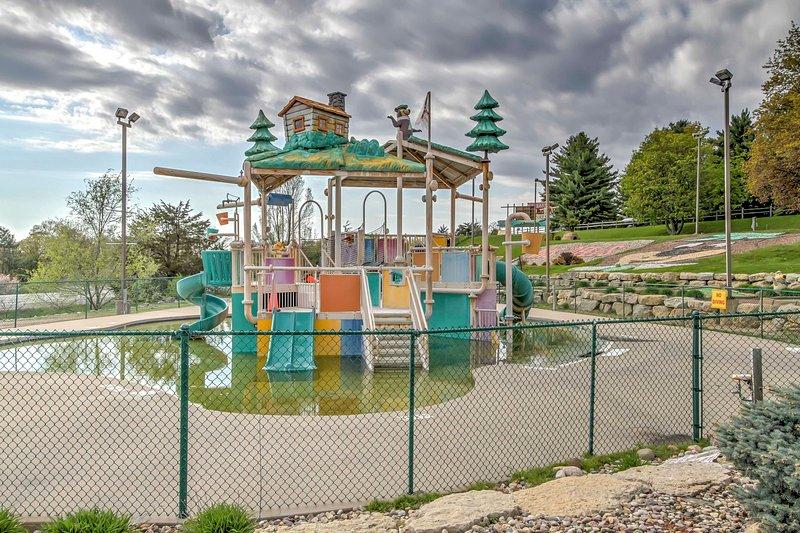 Viel Spaß im Wasserpark!