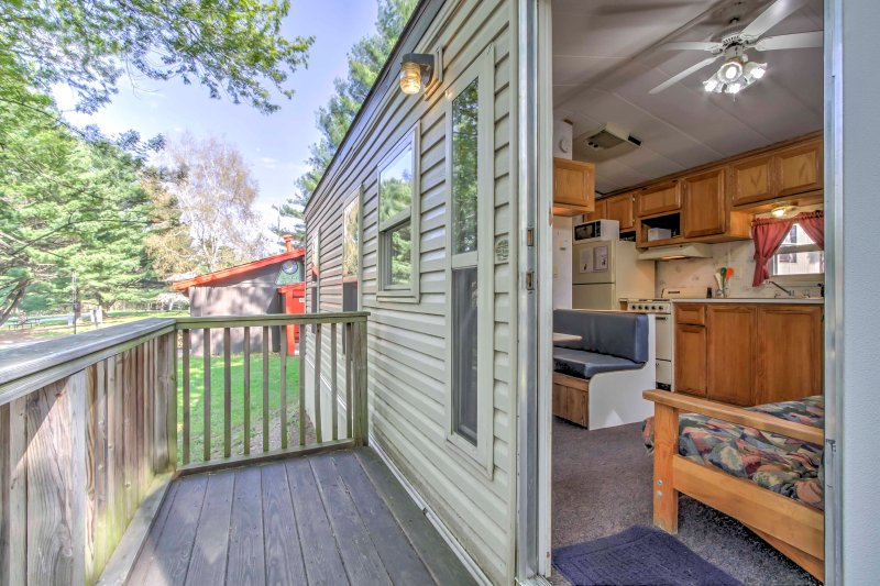 Enjoy the ultimate Baraboo family trip and stay at this vacation rental cabin.