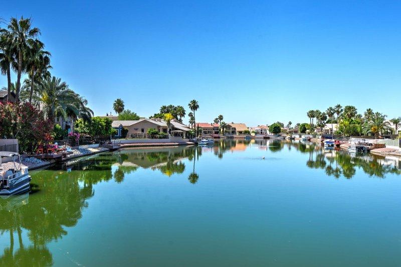 Avec le lac que votre arrière-cour, les possibilités d'aventure sont infinies!