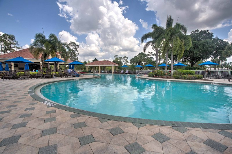 Enjoy access to all the wonderful resort amenities offered at the Vanderbilt Country Club while staying at this beautiful vacation rental condo!