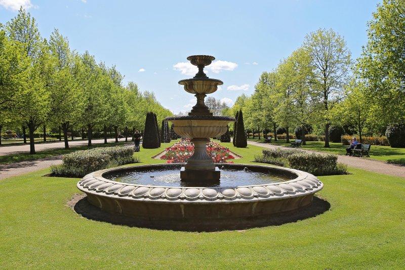 Les jardins de Regent Park